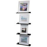 "DENVER Picture Ledge Shelf and Wall Shelf – 22"" Length - White - wallniture"