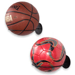 SPORTA Ball Rack - Set of 2 - Black - wallniture