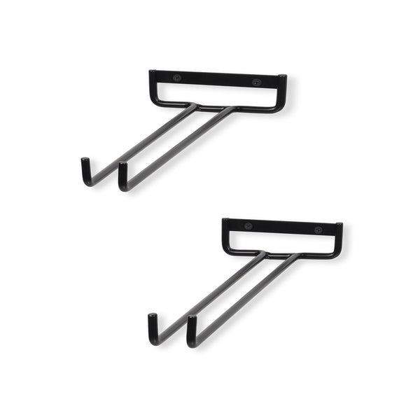 "MODUWINE Stemware Rack Wall Mount, 15"", 2pcs"