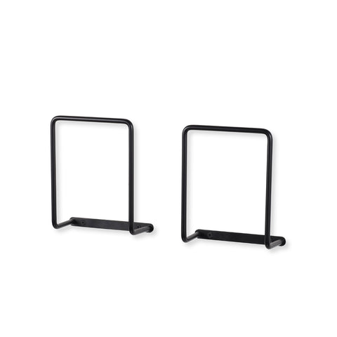 "VANGO Rectangular Bracket – 3"" Depth – Set of 2 - Black - wallniture"