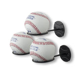 SPORTA Baseball Rack – Set of 3 – Black - Wallniture