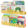 ANIMO Elephant Ledges for Nursery and Kids Room - Set of 2 - Yellow