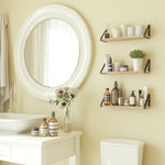 "PONZA 17"" Bathroom Shelf for Bathroom Decor, Wall Mount Bathroom Organizer  – Set of 1, 2, or 3 - Wallniture"