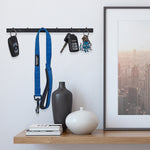 Puno Wall Mount Jewelry Organizer With Hooks  – Set of 3 – Black, White - Wallniture