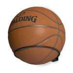 PUNTO Wall Mount Ball Holder, Basketball Rack, and Volleyball Stand - Black