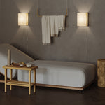 LUXIAN Asian Wall Lamp with Toggle Switch - Set of 1, or 2 - Cream - Wallniture