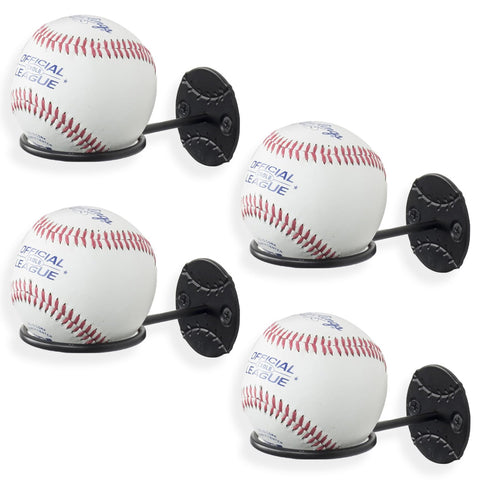 SPORTA Baseball Rack – Set of 4 – Black