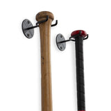 SPORTA Baseball Bat Rack – Set of 2 – Black - Wallniture