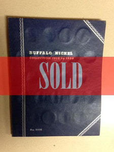 Buffalo Nickel Collection - Sold