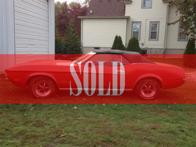 1972 Mustang Convertible - Sold