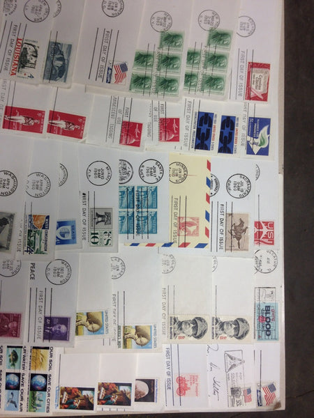 Collection of 73 First Day Issue Stamp's / Envelope's