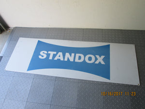Metal Standox Car Paint advertising sign