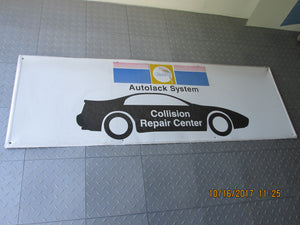 Metal Glasurit Autolock System - Collision Repair Center Sign