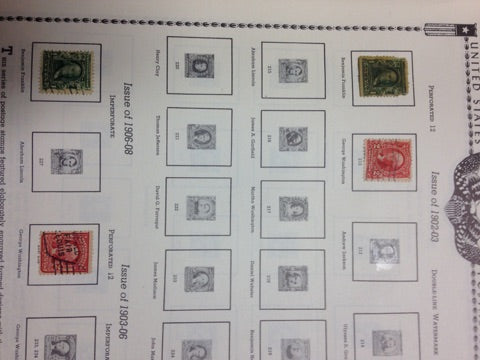 "1959 Edition of ""The All American Stamp Album"""