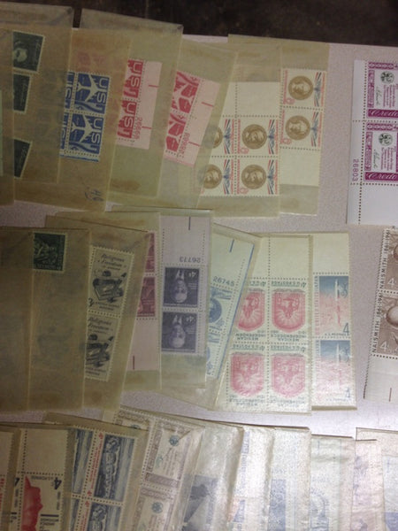 Collection of 249 Uncirculated Stamps