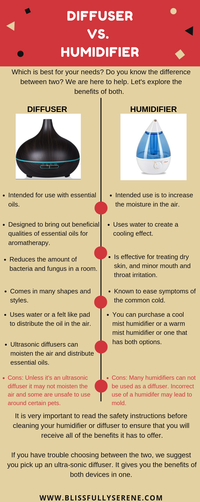 Diffuser vs. Humidifier: Which One Is Right For You?