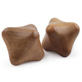 2 Piece Wood Hand Massager