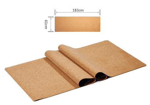 Cork Yoga Mat - Blissfully Serene