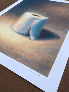 "Robin Cole, ""Art in the Time of Corona II"", limited edition print"