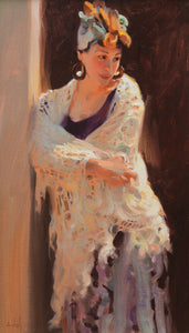 "Kim English | ""White Shawl"""