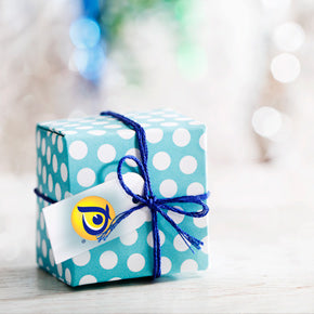 creatively wrapped gift