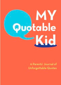 image of My Quotable Kid book