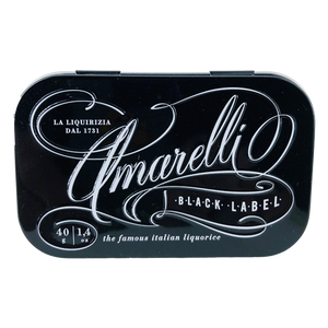 Amarelli Black Label, 40g