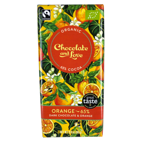 Chocolate and Love - Orange - 65%