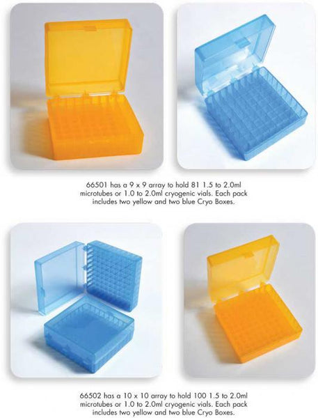 Cryo Cube Boxes, PP - lyonscientific
