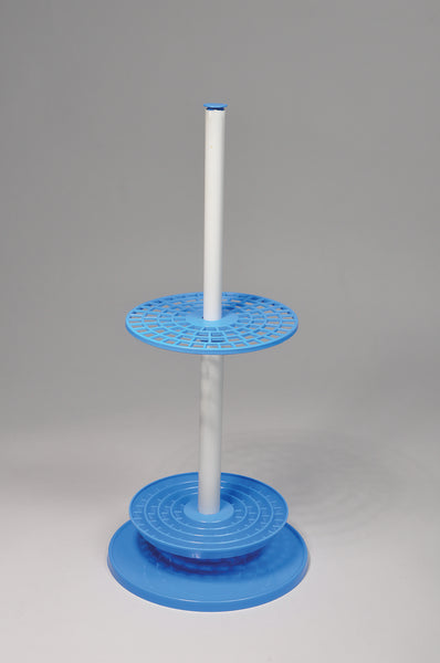 Pipette Stand, Rotary, 94-Place, PP - lyonscientific