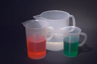 Beakers with Handle, Tall Form, PP - lyonscientific