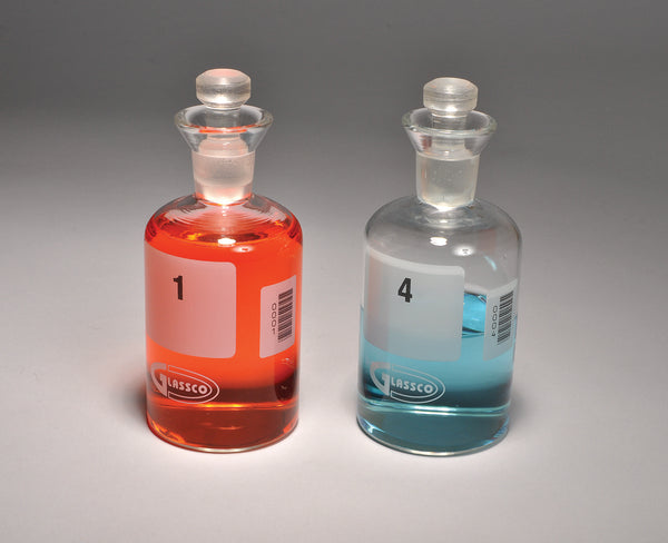 BOD Bottles, Numbered, Borosilicate Glass - lyonscientific