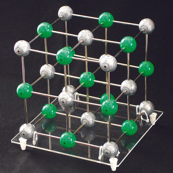 Sodium Chloride Crystal Model - lyonscientific