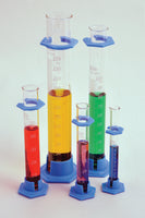 Graduated Cylinders, Plastic Base, Borosilicate Glass - lyonscientific