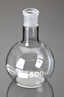 Boiling Flasks, Flat Bottom, Ground Glass Joints, Borosilicate Glass - lyonscientific
