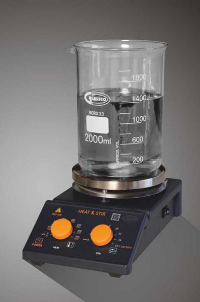Analog Hot Plate / Magnetic Stirrer - lyonscientific