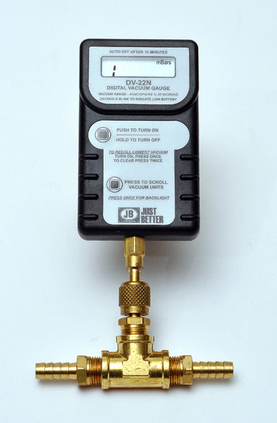 Digital High Vacuum Gauge