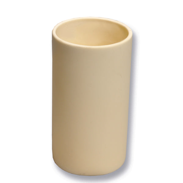 Crucibles, Cylindrical Form, High Alumina - lyonscientific
