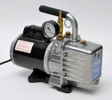 vacuum pump with gage