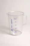 Beakers with Handle, Printed Graduations, PMP - lyonscientific