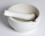 Mortar and Pestle Sets, Porcelain, Economy - lyonscientific