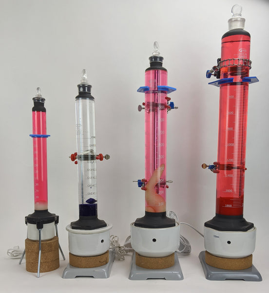 Customized Labware Graduated Cylinder Lava Lamps