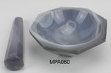 Mortar & Pestle Sets, Agate Stone - lyonscientific