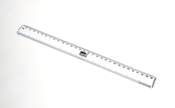 Clear Plastic Rulers - lyonscientific