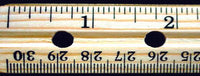 Wooden Ruler - lyonscientific