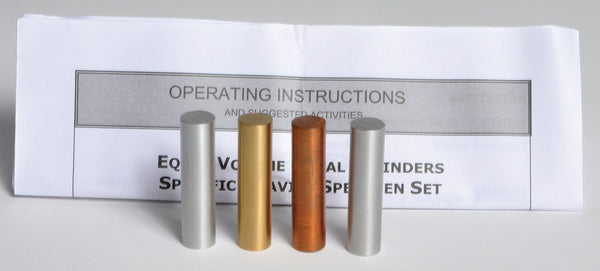 Equal Volume Metal Cylinders - lyonscientific