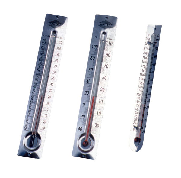 Metal Back Student Thermometers - lyonscientific