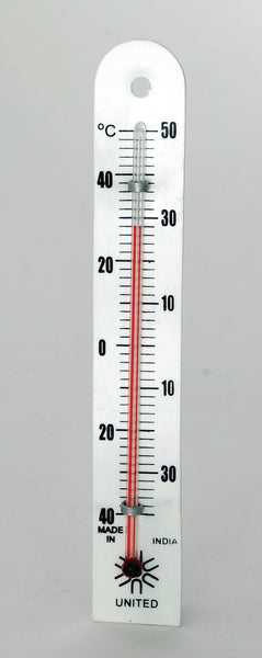 Plastic-Backed Thermometer - lyonscientific