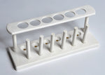 Test Tube Rack, Plastic, 6-Tube, Unassembled - lyonscientific