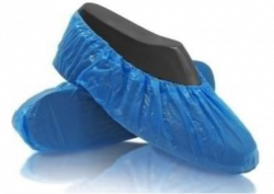 Blue Disposable Shoe Covers